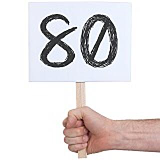 number 80 small
